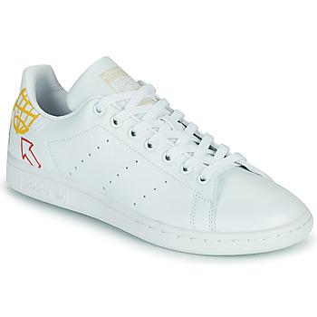 Pantofi Femei Pantofi sport Casual adidas Originals STAN SMITH W SUSTAINABLE Alb / Multicolor