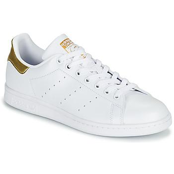 Pantofi Femei Pantofi sport Casual adidas Originals STAN SMITH W SUSTAINABLE Alb / Auriu