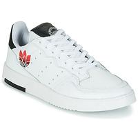 Pantofi Femei Pantofi sport Casual adidas Originals SUPERCOURT Alb / Negru