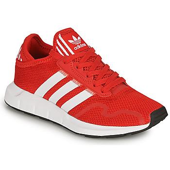 Pantofi Copii Pantofi sport Casual adidas Originals SWIFT RUN X J Roșu