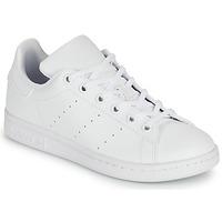 Pantofi Copii Pantofi sport Casual adidas Originals STAN SMITH J SUSTAINABLE Alb