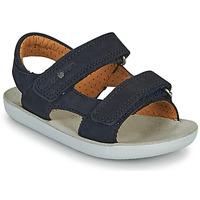 Pantofi Băieți Sandale  Shoo Pom GOA BOY SCRATCH Albastru