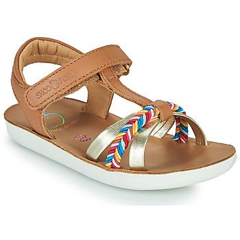 Pantofi Fete Sandale  Shoo Pom GOA SALOME Maro
