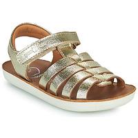 Pantofi Fete Sandale  Shoo Pom GOA SPART Argintiu