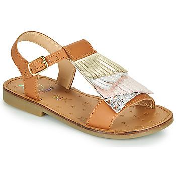 Pantofi Fete Sandale  Shoo Pom HAPPY FALLS Maro