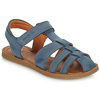 Pantofi Băieți Sandale  Shoo Pom SOLAR TONTON Albastru