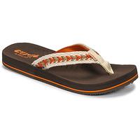 Pantofi Femei  Flip-Flops Cool shoe NUBE Maro