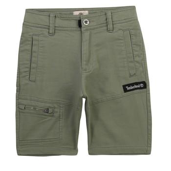 Îmbracaminte Băieți Pantaloni scurti și Bermuda Timberland KLOPA Kaki