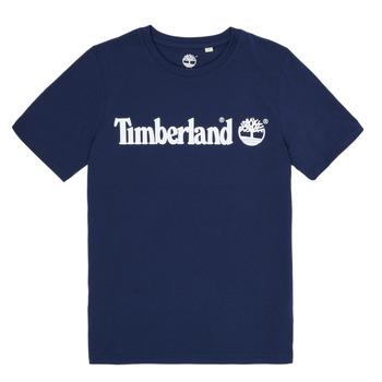 Îmbracaminte Băieți Tricouri mânecă scurtă Timberland VUILL Albastru