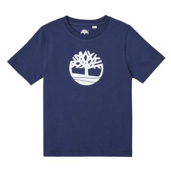 Îmbracaminte Băieți Tricouri mânecă scurtă Timberland TRISTA Albastru