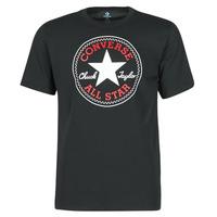 Îmbracaminte Bărbați Tricouri mânecă scurtă Converse NOVA CHUCK PATCH TEE Negru