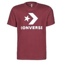 Îmbracaminte Bărbați Tricouri mânecă scurtă Converse STAR CHEVRON TEE Bordo