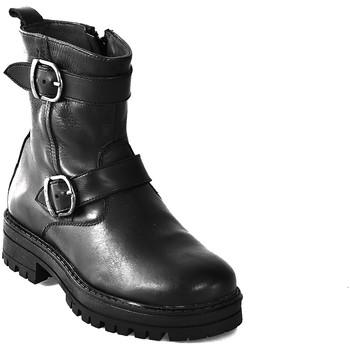 Pantofi Copii Ghete Asso 67961 Negru
