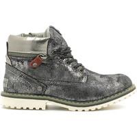 Pantofi Copii Ghete Wrangler WG16201K Argint
