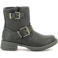 Pantofi Copii Ghete Wrangler WG16205B Negru