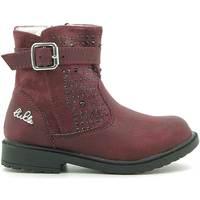 Pantofi Copii Ghete Lulu LL140006S Roșu