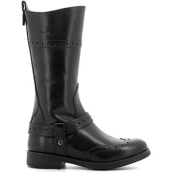 Pantofi Copii Cizme casual Geox J6449B 00043 Negru