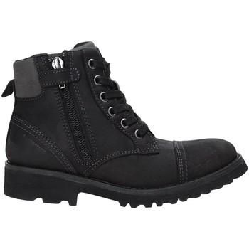 Pantofi Copii Ghete Geox J643DA 04554 Negru