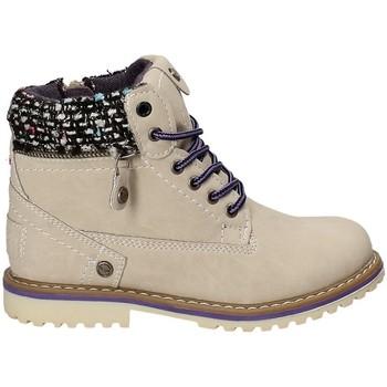 Pantofi Copii Ghete Wrangler WG17230 Bej