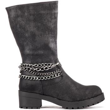Pantofi Copii Ghete Lumberjack SG32007 004 S01 Negru