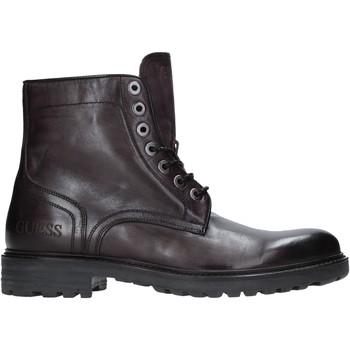 Pantofi Bărbați Ghete Guess FM8GRD LEA10 Gri