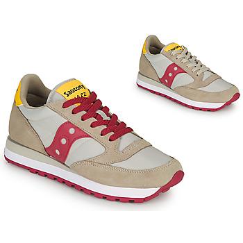 Pantofi Femei Pantofi sport Casual Saucony JAZZ ORIGINAL Bej / Roșu