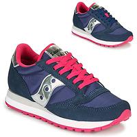 Pantofi Femei Pantofi sport Casual Saucony JAZZ ORIGINAL Albastru / Roz