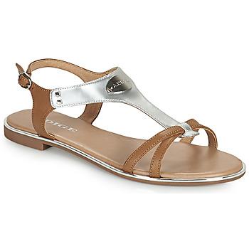 Pantofi Femei Sandale  Adige ANNABELLE V4 SPECCHIO SILVER Argintiu