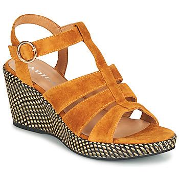 Pantofi Femei Sandale  Adige FLORY V4 UNDER SAFRAN Galben