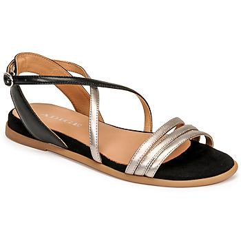 Pantofi Femei Sandale  Adige IDIL V2 CENTURY ACERO Argintiu