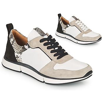 Pantofi Femei Sandale  Adige VANILLE V5 PYTHON ICE Alb