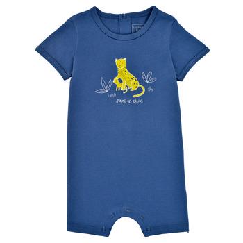 Îmbracaminte Băieți Jumpsuit și Salopete Carrément Beau Y94205-827 Albastru
