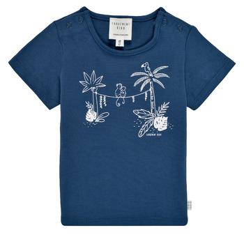 Îmbracaminte Băieți Tricouri mânecă scurtă Carrément Beau Y95274-827 Albastru