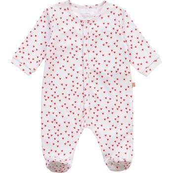 Îmbracaminte Fete Pijamale și Cămăsi de noapte Carrément Beau Y97101-10B Alb