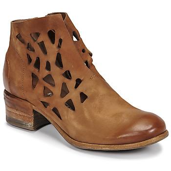 Pantofi Femei Ghete Airstep / A.S.98 GIVE PERF Camel