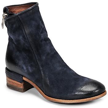 Pantofi Femei Botine Airstep / A.S.98 GIVE ZIP Albastru