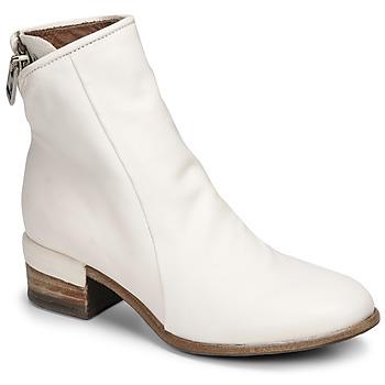 Pantofi Femei Botine Airstep / A.S.98 GIVE ZIP Alb
