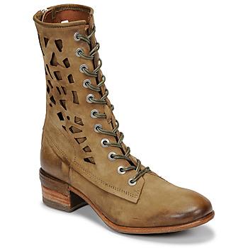Pantofi Femei Ghete Airstep / A.S.98 GIVE HIGH Kaki