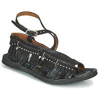 Pantofi Femei Sandale  Airstep / A.S.98 RAMOS FRANGE Negru