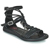 Pantofi Femei Sandale  Airstep / A.S.98 RAMOS TORSADE Negru