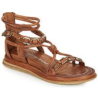Pantofi Femei Sandale  Airstep / A.S.98 POLA SQUARE Camel