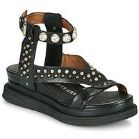 Pantofi Femei Sandale  Airstep / A.S.98 LAGOS STUD Negru