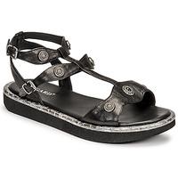Pantofi Femei Sandale  Regard ANGLET Negru
