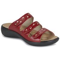 Pantofi Femei Papuci de vară Romika Westland IBIZA 66 Roșu
