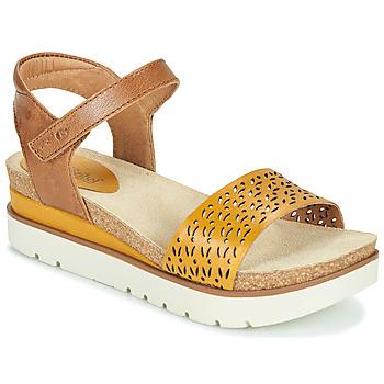 Pantofi Femei Sandale  Josef Seibel CLEA 09 Maro / Galben