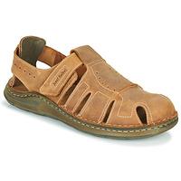 Pantofi Bărbați Sandale  Josef Seibel MAVERICK 01 Maro