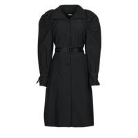 Îmbracaminte Femei Trenciuri Karl Lagerfeld DRAPEDTRENCHCOAT Negru