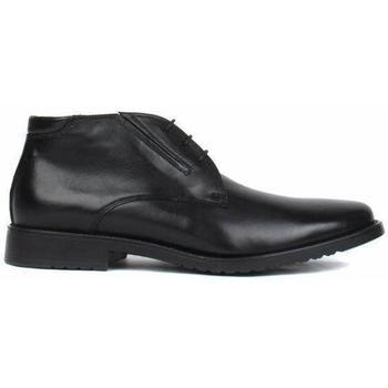 Pantofi Bărbați Ghete Salamander Adam Flats Black