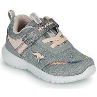 Pantofi Fete Pantofi sport Casual Kangaroos KY-CHUMMY EV Gri / Roz