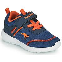 Pantofi Băieți Pantofi sport Casual Kangaroos KY-CHUMMY EV Albastru / Portocaliu